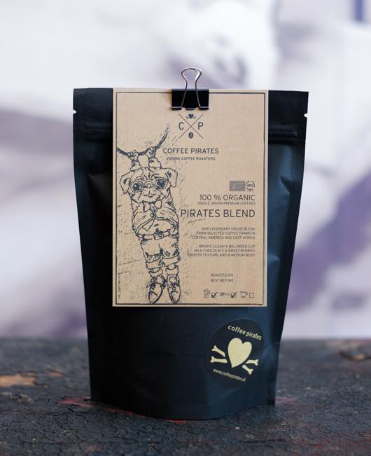 Pirates Blend coffee