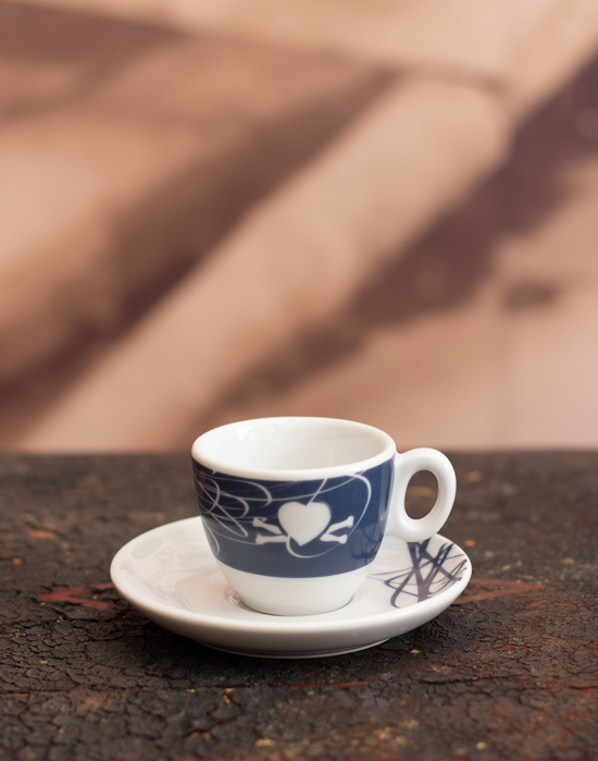 CoffeePirates espresso cup and saucer
