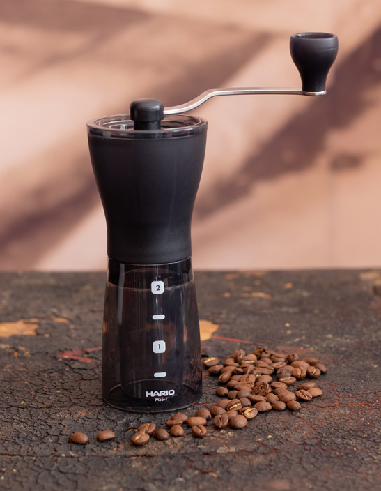 Hario Mini Slim Plus coffee grinder