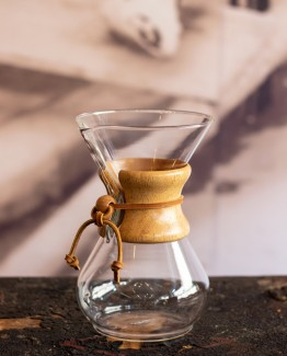Chemex six cup classic coffeemaker