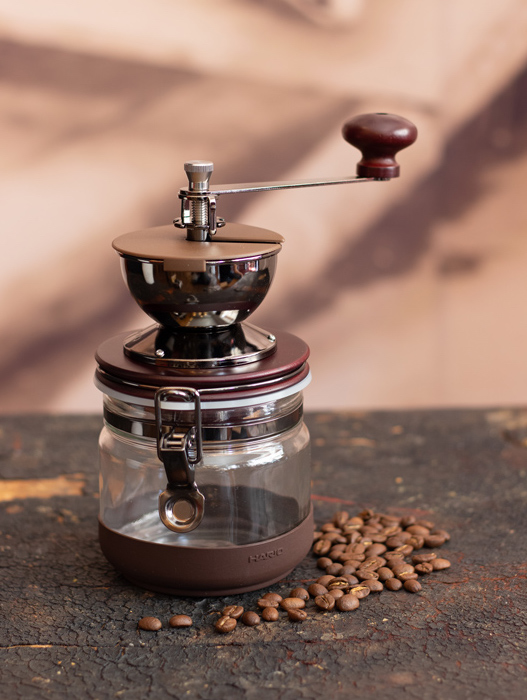 "Hario Ceramci Burr ""Canister"" Hand Coffee Grinder"
